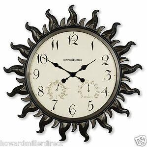 Howard-Miller-625-543-Sunburst-ll-Indoor-or-Outdoor-Battery-Sunburst-Clock