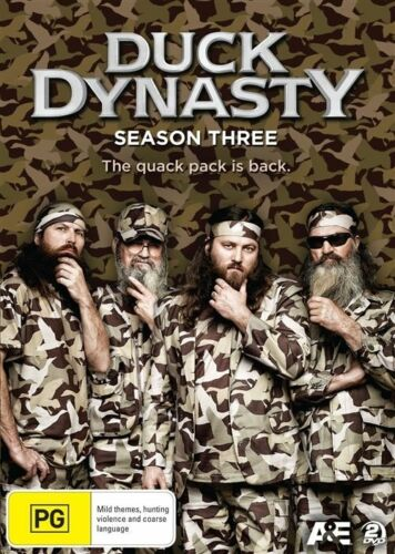 1 of 1 - Duck Dynasty : Season 3 (DVD, 2013, 2-Disc Set) Excellent Condition