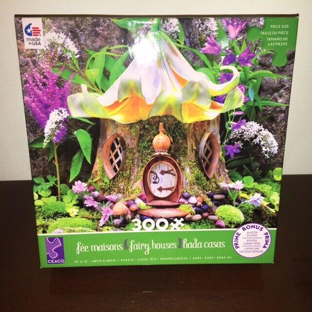 """Ceaco 'Fairy Houses' Jigsaw Puzzle - 300 Piece  19"""" x 19"""""""