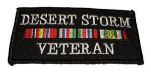 DESERT-STORM-VETERAN-PATCH-W-CAMPAIGN-RIBBONS-ODS-GULF-WAR-IRAQ-KUWAIT-SAUDI