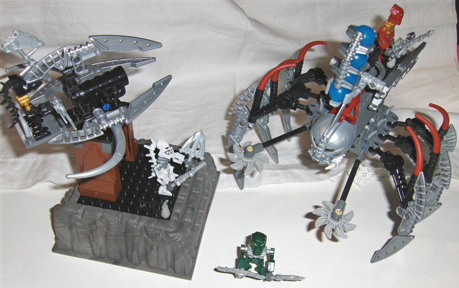 LEGO SET 8892 - BIONICLE PIRAKA PIRAKA PIRAKA OUTPOST, COMPLETE a4cd79