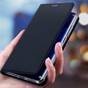 Pour-Huawei-P-Smart-Z-Plus-2019-Magnetique-en-Cuir-Flip-Fente-pour-carte-Portefeuille-Case-Cover