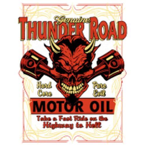 con Thunder e auto Road modello Felpa 50 Us Stylemotiv maglietta calda dwzXtxq7P