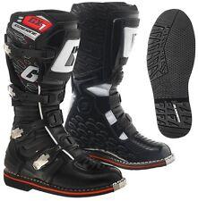 STIVALI BOOTS MOTO OFF ROAD GAERNE GX1 2016 SUOLA ENDURO BLACK NERO TG 45