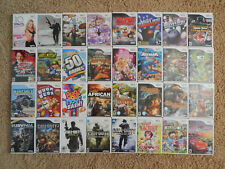 Nintendo Wii Games! You Choose from Large Selection! $7.95 Each!