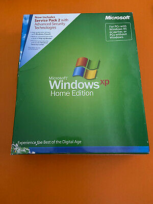 Windows XP Home Edition Full Retail Version w/SP2 and ...