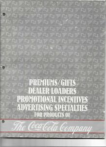 THE COCA-COLA  COMPANY 1985 PREMIUMS / GIFTS / DEALER LOADERS / PROMO  MAGAZINE