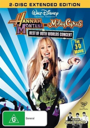1 of 1 - Hannah Montana And Miley Cyrus - Best Of Both Worlds Concert Tour (DVD) # 0404