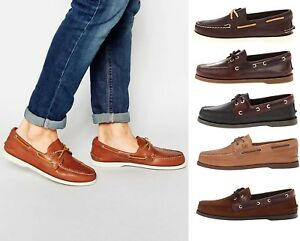 Leather Boat Shoes EXTRA WIDE