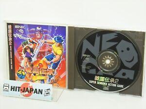 SENGOKU-DENSHO-2-Ref-106-Neo-Geo-CD-Neogeo-SNK-Japan-Game-nc