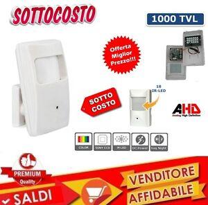 TELECAMERA-AHD-FINTO-PIR-SENSORE-3-6-mm-18-IR-LED-1000TVL-1-0-MPX-720P-1280X720