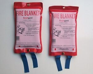 2-X-FIRE-BLANKET-1-2M-X-1-2M-IDEAL-KITCHEN-CAMPING-CARAVAN-BOAT-BUSINESS