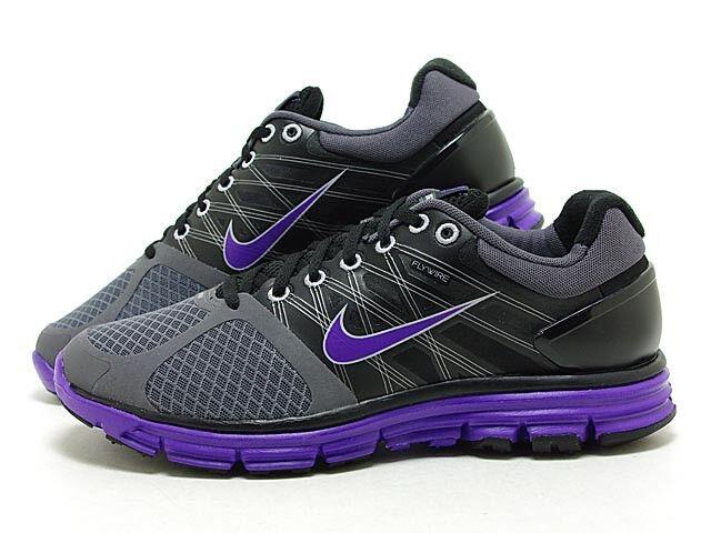 Nike lunarglide + 2 Shield nuevo running jogging zapatos gr 43 maratón púrpura