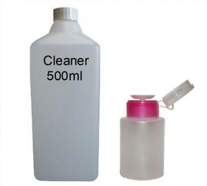 500ml Cleaner Entfetter + Dispenser 150ml Isopropanol Nagelcleaner Reiniger