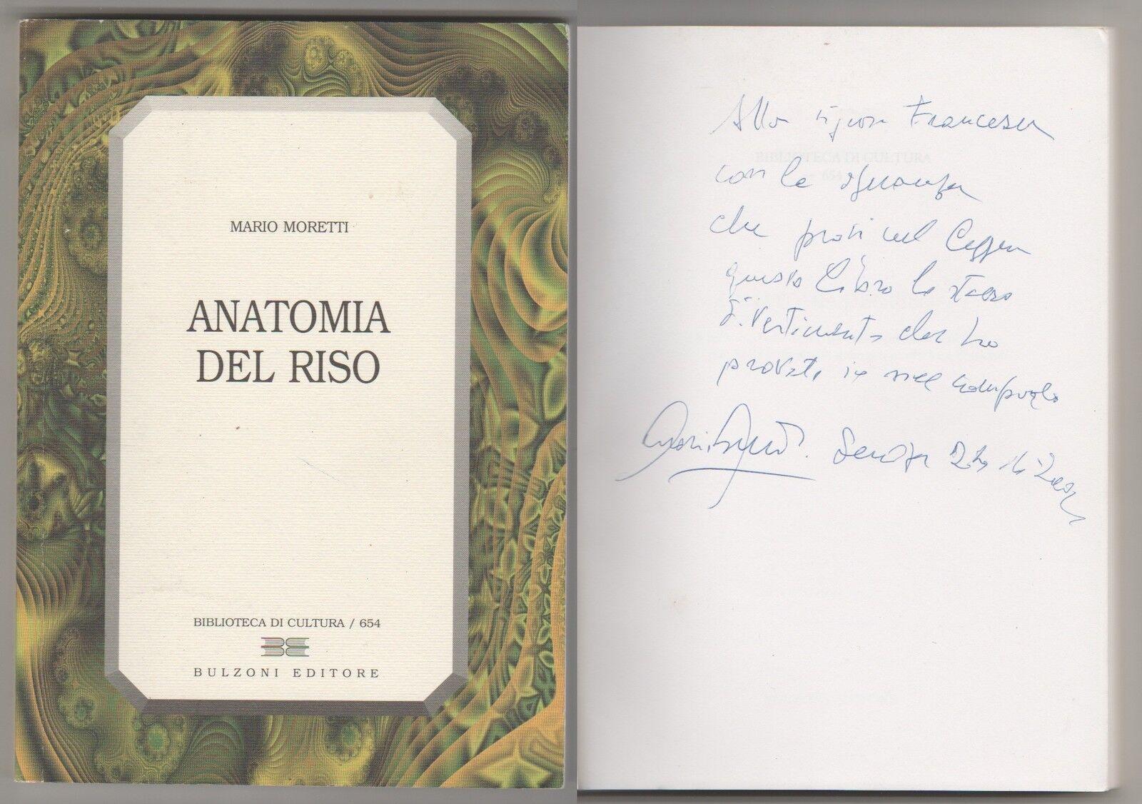 Anatomia del riso - (autografato)