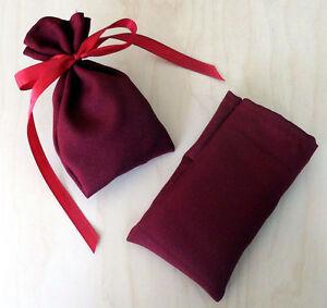Calendrier-de-l-039-Avent-24-sac-rouge-bordeaux-8x13-fourre-tout-Noel