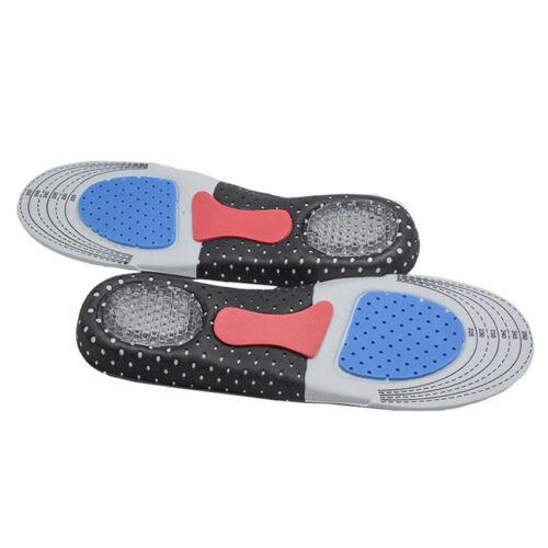 1 Pair Silicone Gel Sport Insoles Shoes Insert Pad Orthopedic Plantar Fasciitis