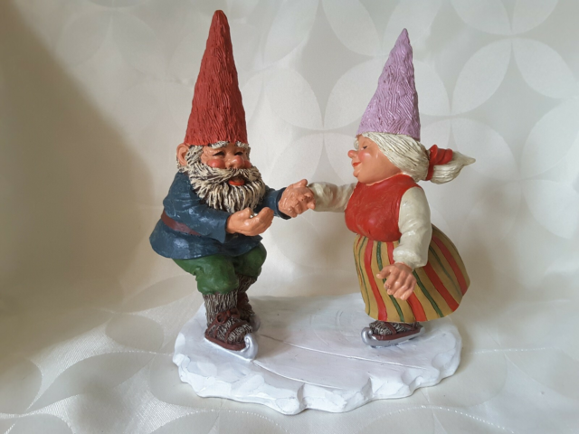 Gnomes, Nisser, Rien Poortvliet, # 195529 Catrina & Charles…