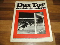 TOR des JAHRHUNDERTS -- Foto Dokumentation Fußball WM 1966 England-Deutschland