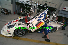 LeMans Le Mans 24H McLaren Fina F1 GTR #42 original Foto 30cm x 40cm