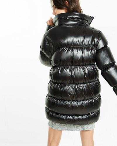 248 duvet à noir duvet de Manteau M en moyen taille Express bourre New noir long 5xgaAnX
