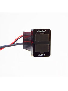 USB-Pass-Through-USB-Charger-for-Prado-150-LC200-2016-Hilux-and-More