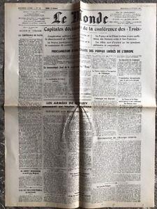 N63-La-Une-Du-Journal-Le-Monde-14-Fevrier-1945