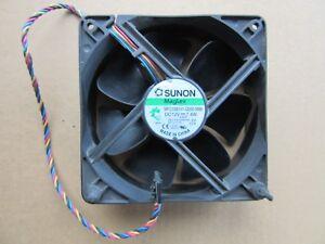 SUNON-MagLev-MFC0381V1-Q000-M99-Fan-12V-0-62A-5-Pin-120mm-x-38mm-YK550-TESTED