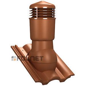 Aislado-Chimenea-de-ventilacion-dn125-braas-TAUNUS-TEJA-Ventilador-techo-Sistema