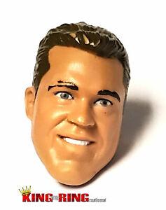 WWE Mattel Elite ERIC YOUNG INSANITY Wrestling Figure HEAD Custom Fodder TNA NXT