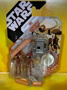 Star-Wars-30th-Anniversary-Pit-Droids-Maroon-Power-Converter-Fan-039-s-Choice