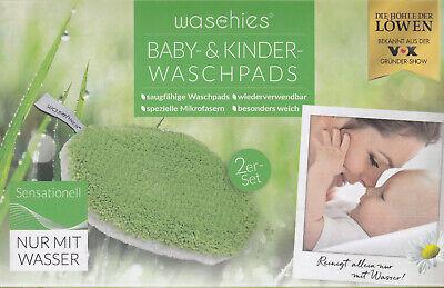 Waschies Baby- & Kinder-waschpads, 4er Set - Reinigung Nur Mit Wasser - Neu