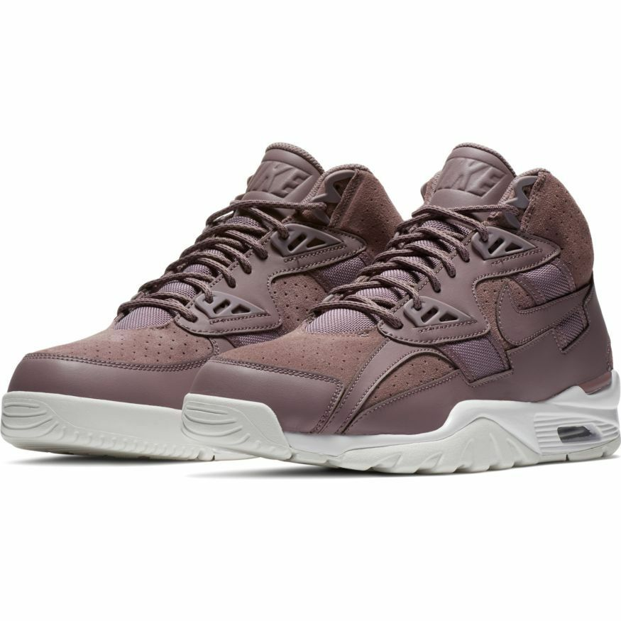 NIKE Men's AIR TRAINER SC HIGH TAUPE GREY shoes 302346-201 b