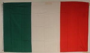 Italien  Flagge Flaggen Fahnen Hissflagge  90 x150 cm mit 2 Ösen Fahne