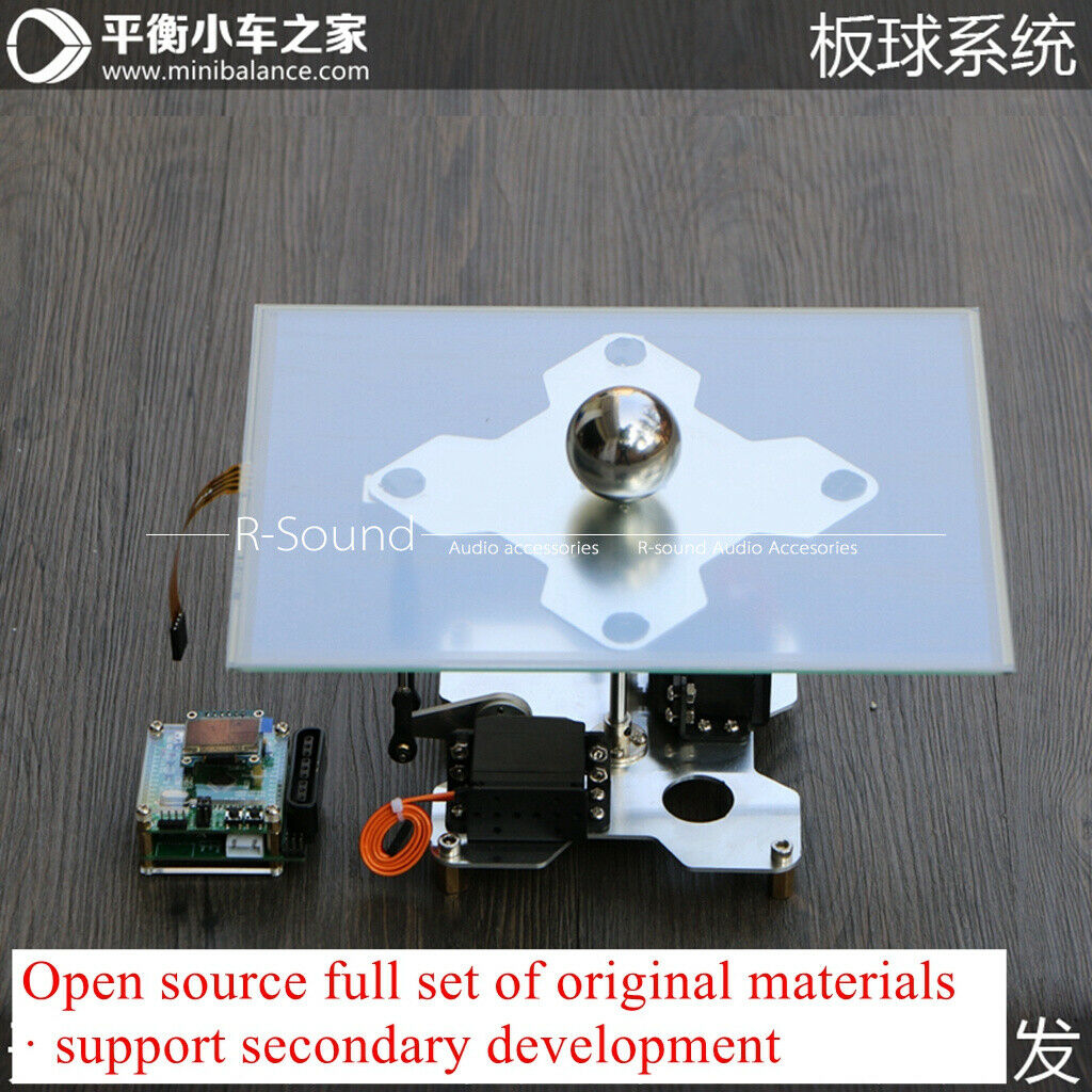 Cricket Control  Rolling Ball System Electronic Design Ball-Plate Balance PID