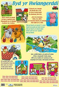 Image Is Loading Welsh Nursery Rhymes A2 All Extra Posters Only