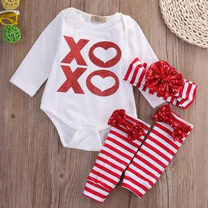 86cc948f1 3Pcs Newborn Baby Girls Floral Outfit T shirt + Pants Leggings ...