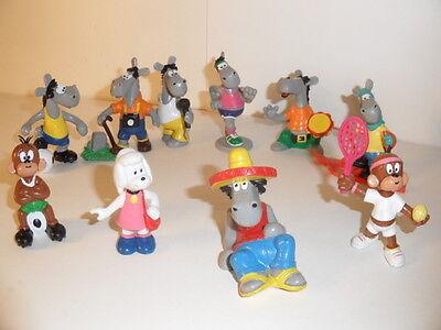Comicfiguren Pferdle /& Äffle von Bully Größe 4-13cm ab 1980 verschiedene Figuren