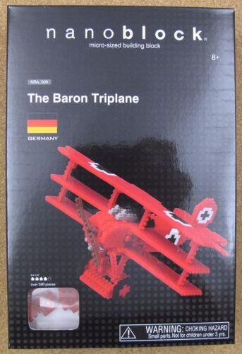 nanoblock NBA/_009 The Baron Triplane