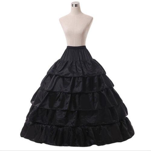 Flounce 4 Hoop Wedding Bridal Accessories Petticoat//Crinoline//Underskirt//Slip