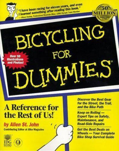 Bicycling For Dummies? by St. John, Allen