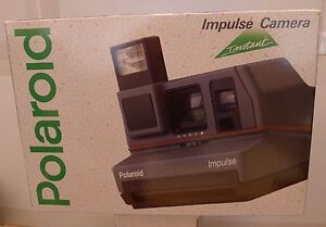 polaroid 600 impulse instant film camera manual new sealed retail rh ebay com polaroid impulse instructions polaroid impulse 600 manual