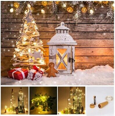 Fairy LED Copper Wire String Light Wedding Party Christmas Decor 2//3//5//10m Xmas