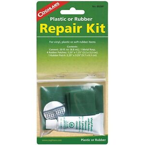 Coghlans Plastic Rubber Camping Accessory Repair Kit Air Mattress