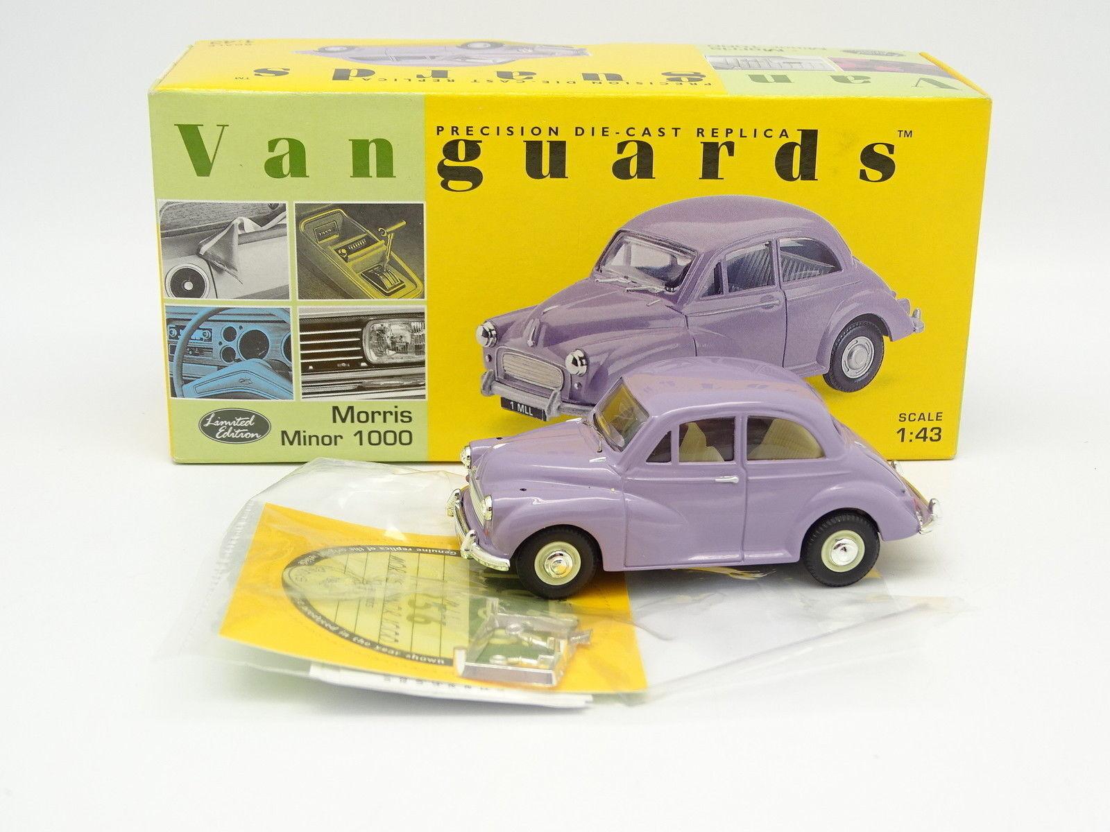 Vanguards 1 43 - Morris Minor 1000 Purple