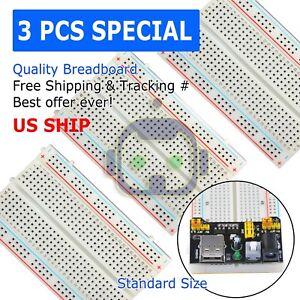 3X-Mini-400-Point-Solderless-Prototype-PCB-Breadboard-Protoboards-US