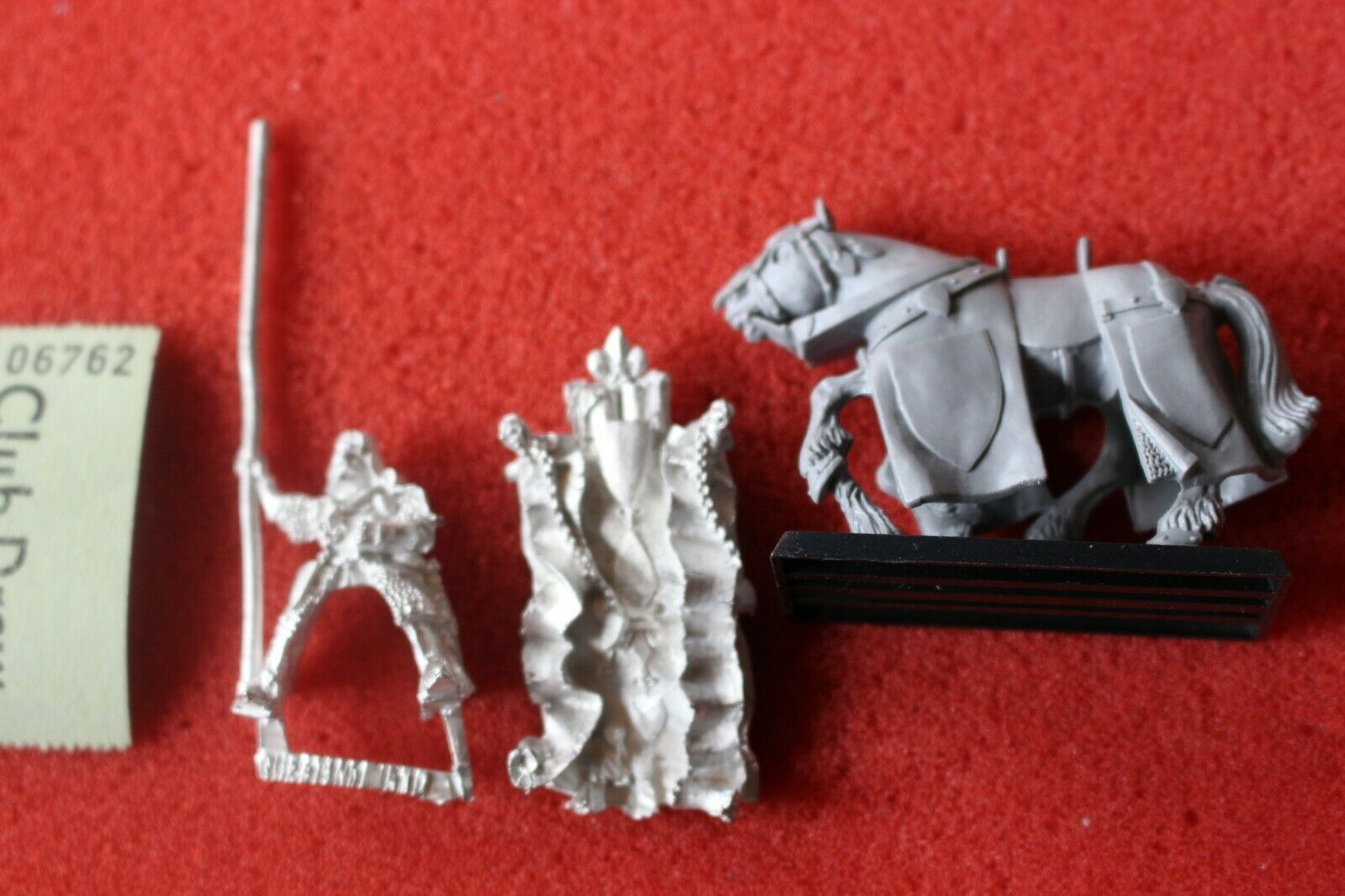 Games Workshop Warhammer Bretonnian Standard Bearer Questing Knight Fantasy OOP