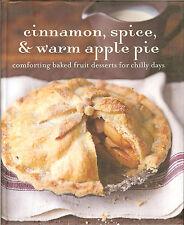 Cinnamon, Spice, & Warm Apple Pie - Comforting Baked Fruit Desserts, NEW HB