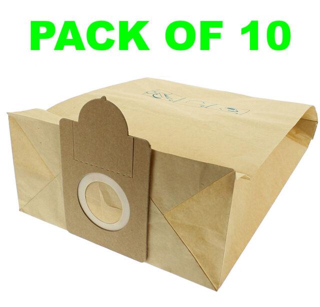10  Staubsaugerbeutel  geeignet für Nilco S 12