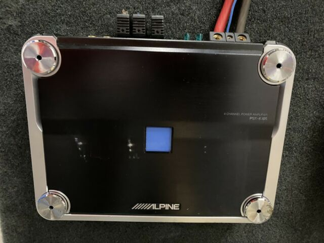 Alpine PDX 400.4 Amplifier.